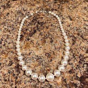 """Nadri 18"""" faux pearl necklace"""